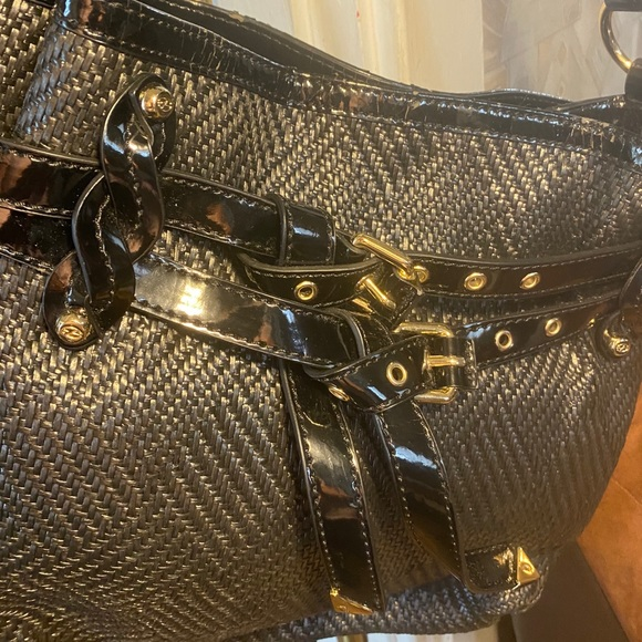 Francesco Biasia Designer Black Bag Purse